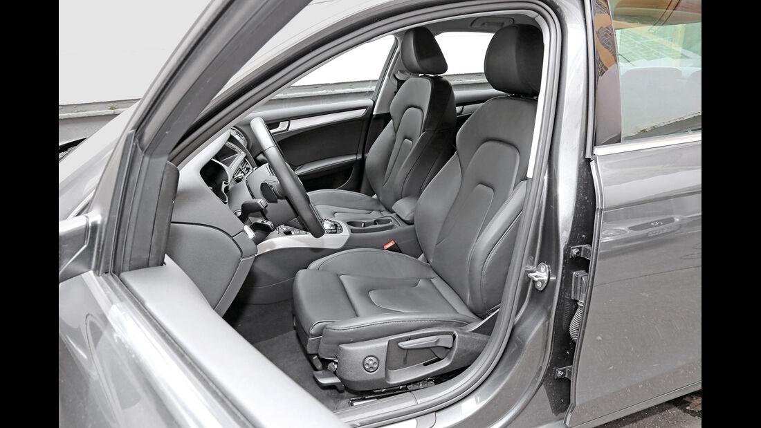 Audi A4 3.0 TDI Clean Diesel Quattro, Fahrersitz