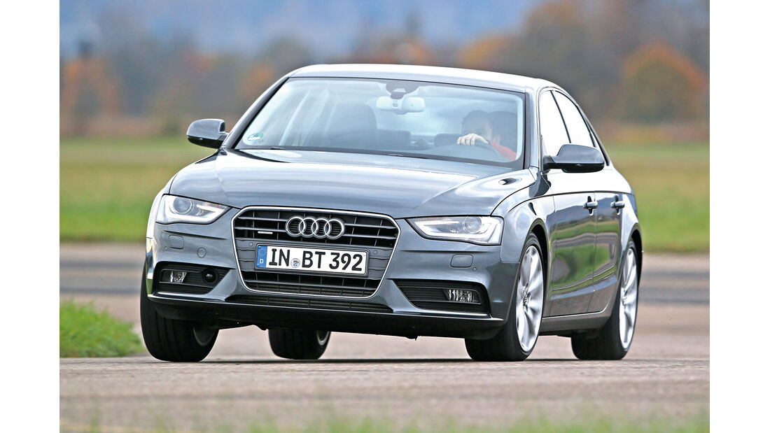 Audi A4 3.0 TDI Clean Diesel Quattro, Frontansicht