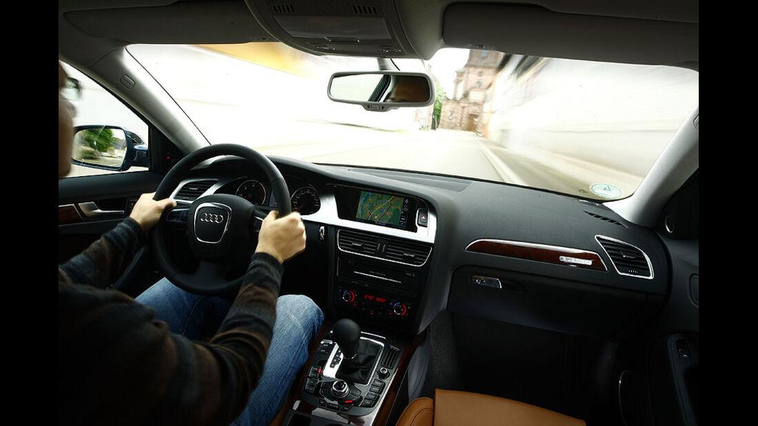 Audi A4 3.0 TDI Cockpit