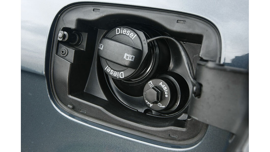 Audi A4 3.0 TDI Einfüllstutzen