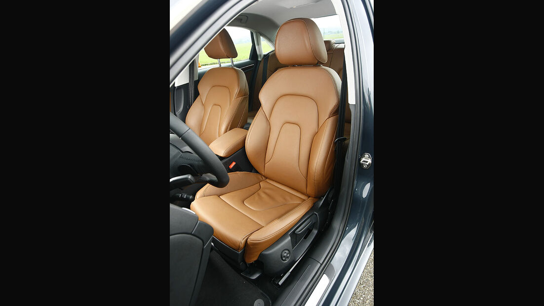 Audi A4 3.0 TDI Fahrersitz