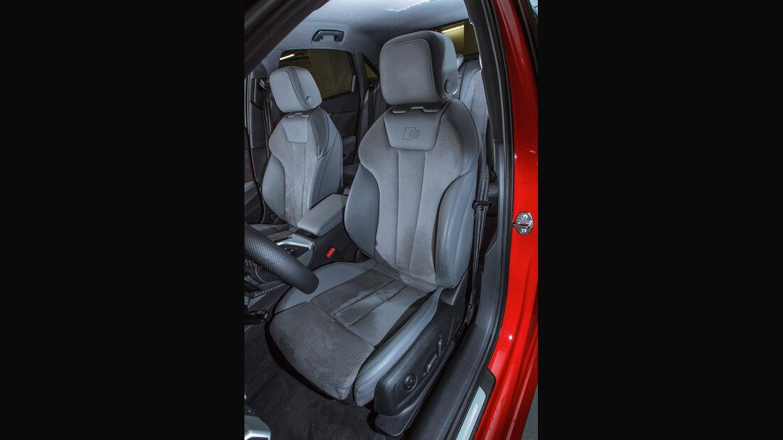 Audi A4 3.0 TDI Quattro, Fahrersitz