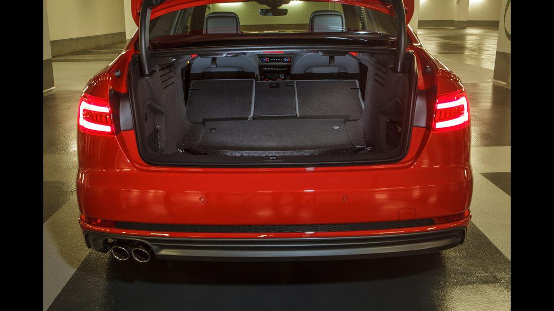 Audi A4 3.0 TDI Quattro, Kofferraum