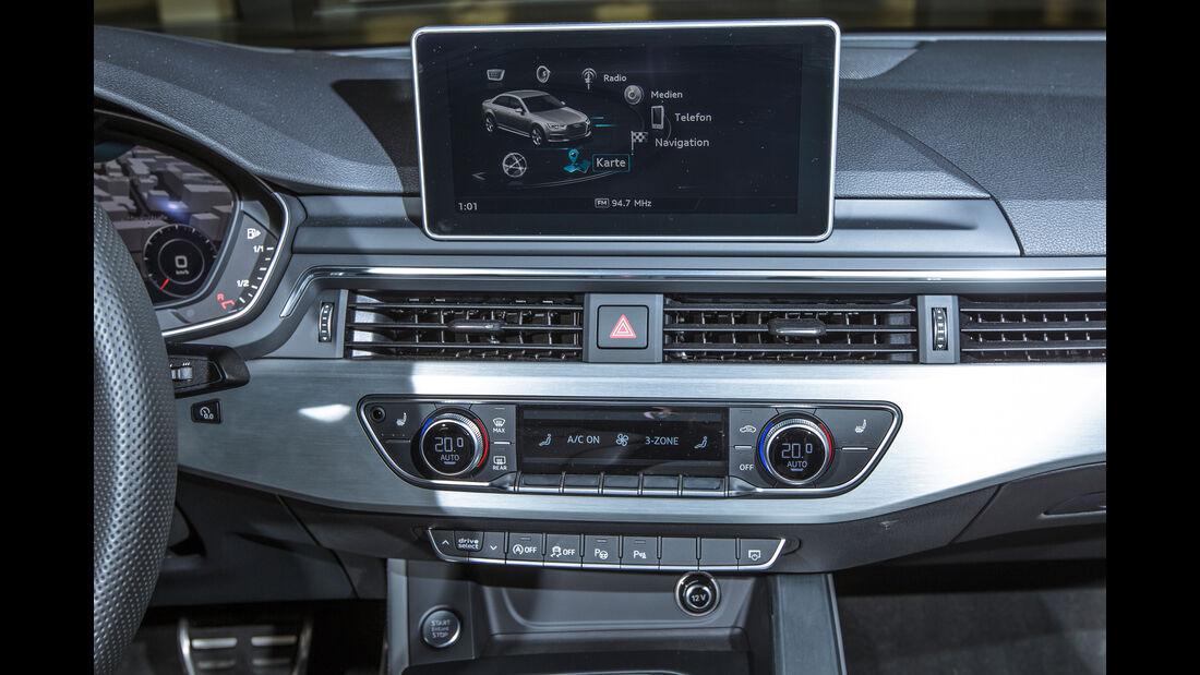 Audi A4 3.0 TDI Quattro, Navi, Monitor