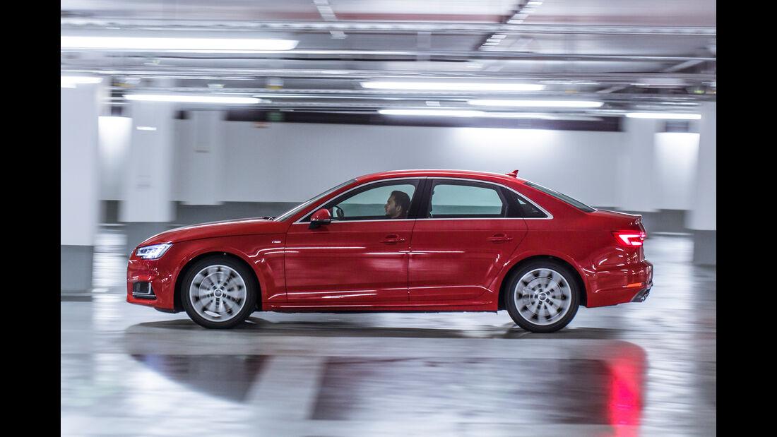 Audi A4 3.0 TDI Quattro, Seitenansicht