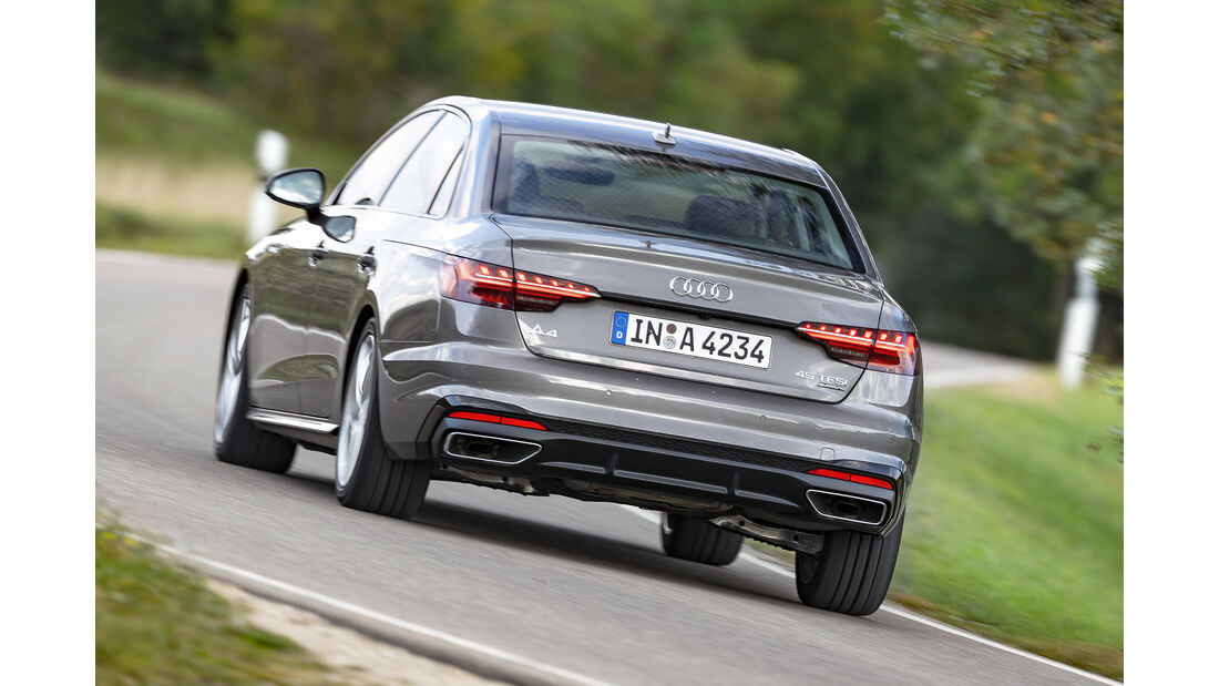 Audi A4 45 TFSI Quattro, Exterieur