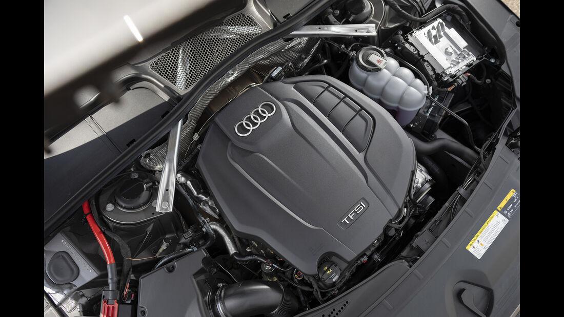 Audi A4 45 TFSI Quattro, Motorraum