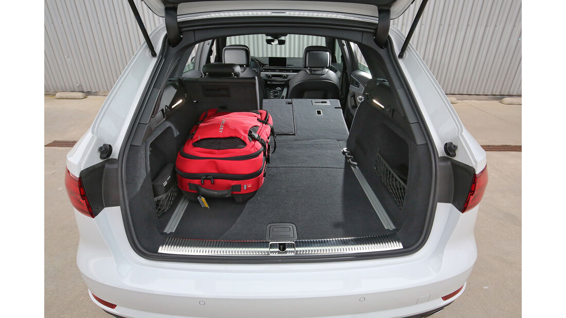 Audi A4 AV 2.0 TFSI Quattro, Kofferraum