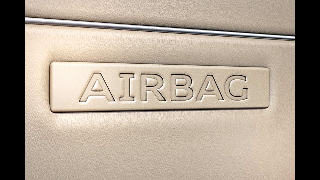 Audi A4, Airbag