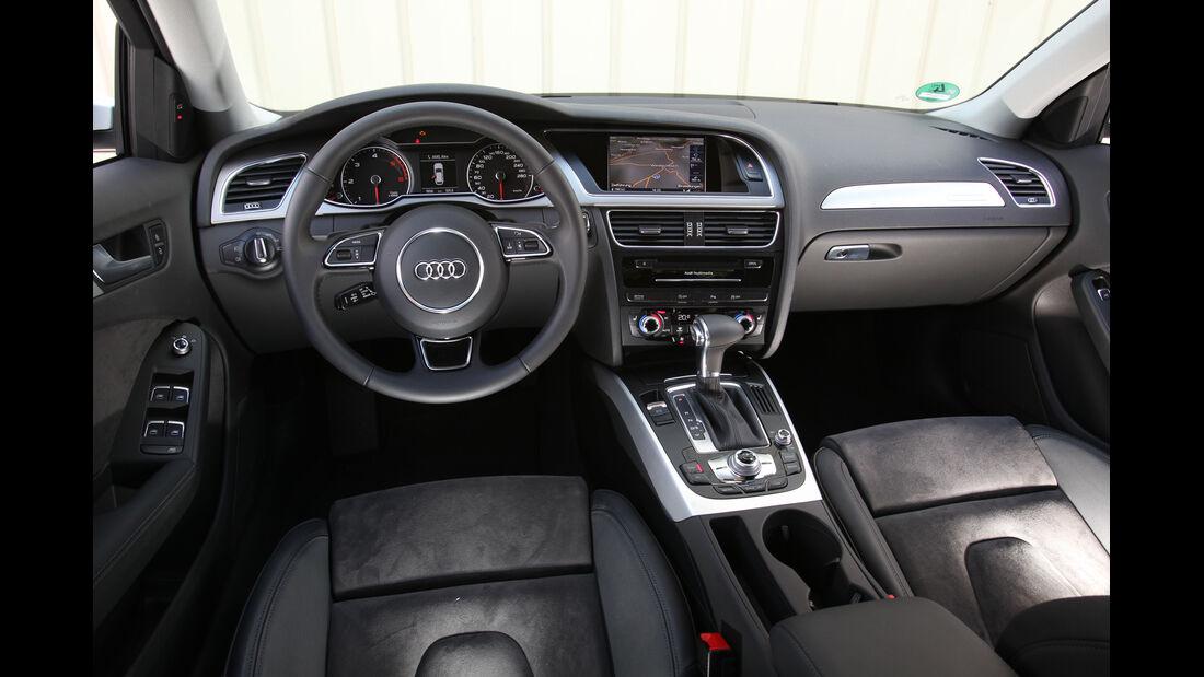 Audi A4 Allroad Quattro 2.0 TDI, Cockpit, Lenkrad
