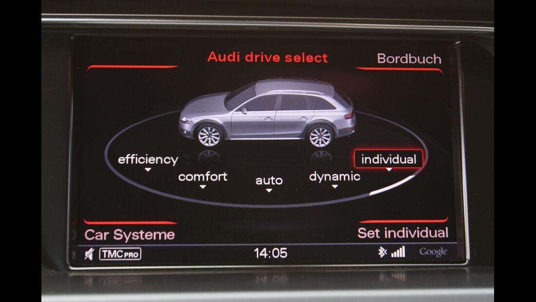 Audi A4 Allroad Quattro 2.0 TDI, Display, Monitor, Anzeige