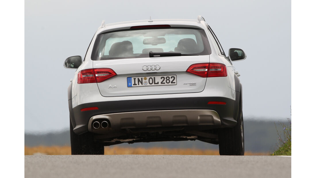 Audi A4 Allroad Quattro 2.0 TDI, Heckansicht