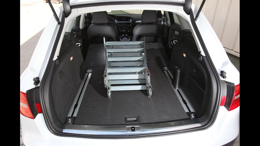Audi A4 Allroad Quattro 2.0 TDI, Kofferraum, Ladefläche
