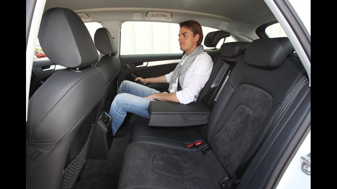 Audi A4 Allroad Quattro 2.0 TDI, Rücksitz, Beinfreiheit