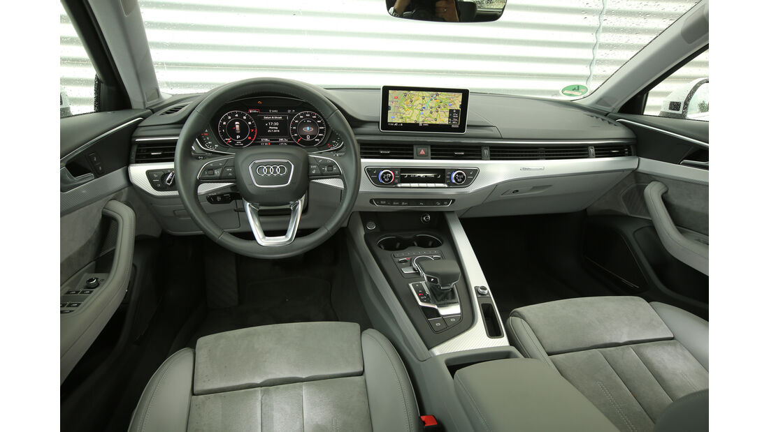 Audi A4 Allroad Quattro 2.0 TFSI, Cockpit