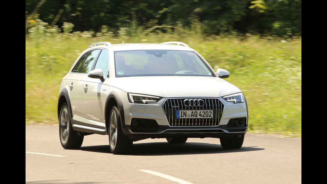 Audi A4 Allroad Quattro 2.0 TFSI, Frontansicht