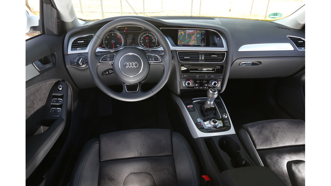 Audi A4 Allroad Quattro, Cockpit