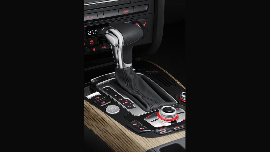 Audi A4 Allroad Quattro, Innenraum, Wählhebel