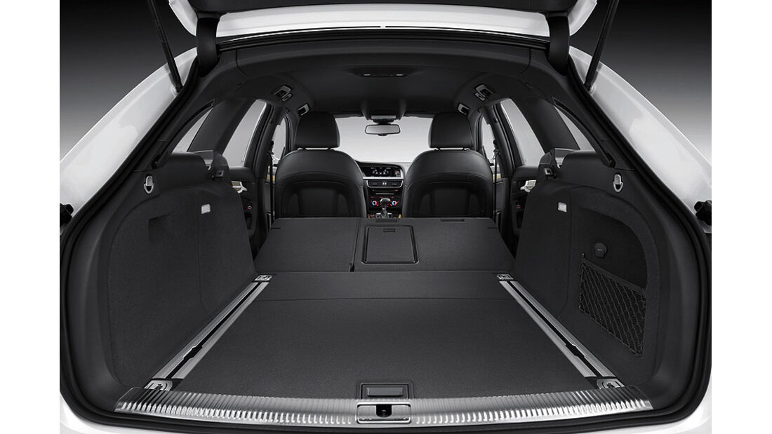 Audi A4 Allroad Quattro, Kofferraum,