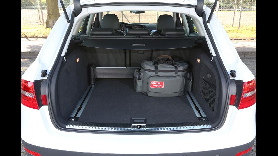 Audi A4 Allroad Quattro, Kofferraum