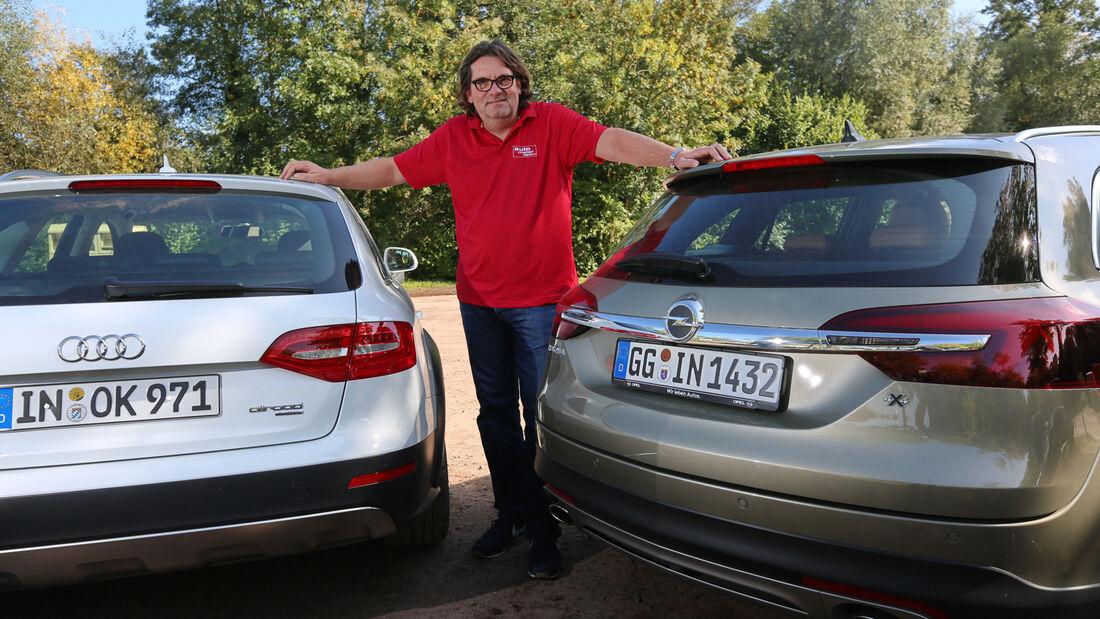 Audi A4 Allroad Quattro, Opel Insignia Country Tourer, Heinrich Lingner