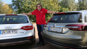 Audi A4 Allroad Quattro, Opel Insignia Country Tourer, Heinrich Lingner