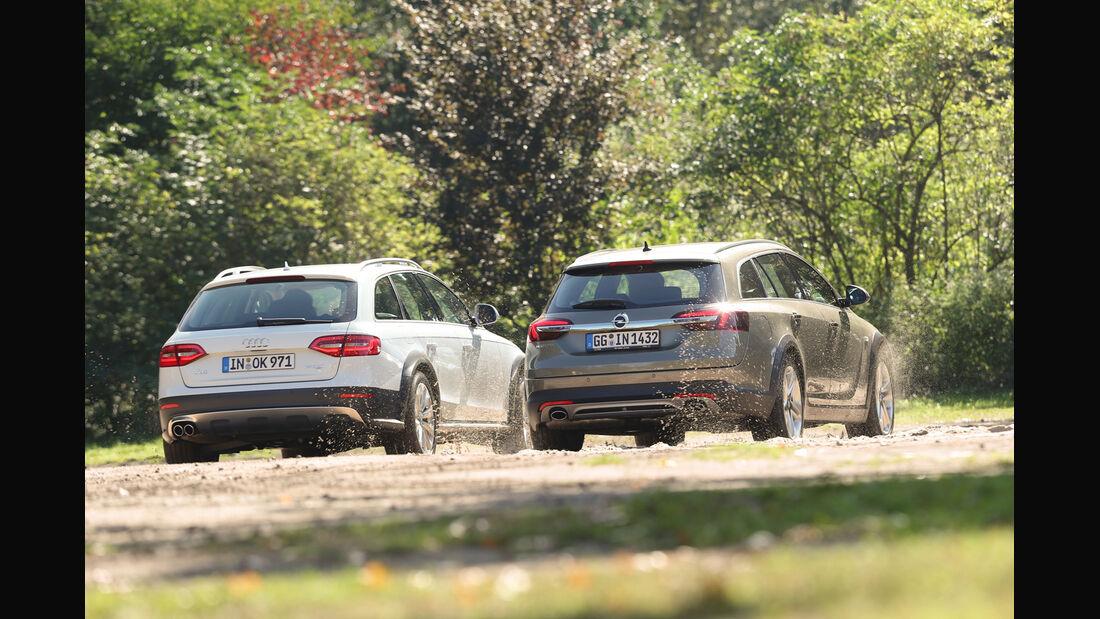 Audi A4 Allroad Quattro, Opel Insignia Country Tourer