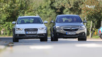 Audi A4 Allroad Quattro, Opel Insignia Country Tourer