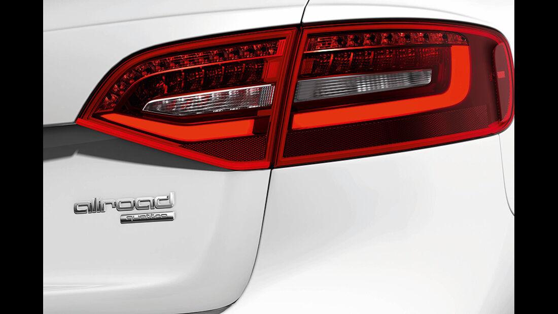 Audi A4 Allroad Quattro, Rücklicht