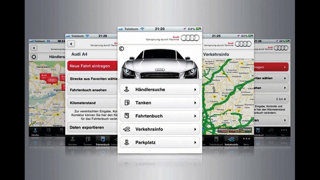 Audi A4, App