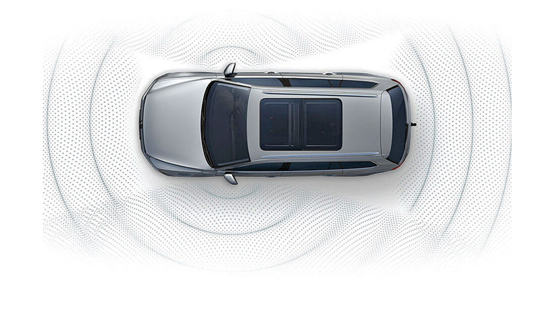 Audi A4, Area View