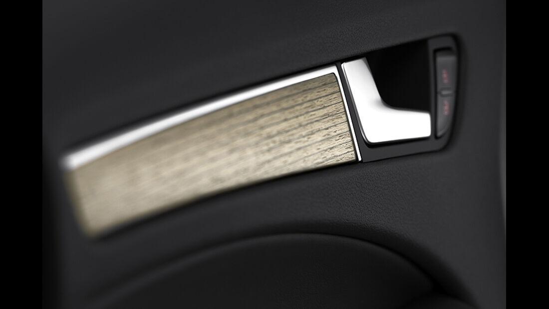 Audi A4, Armaturen