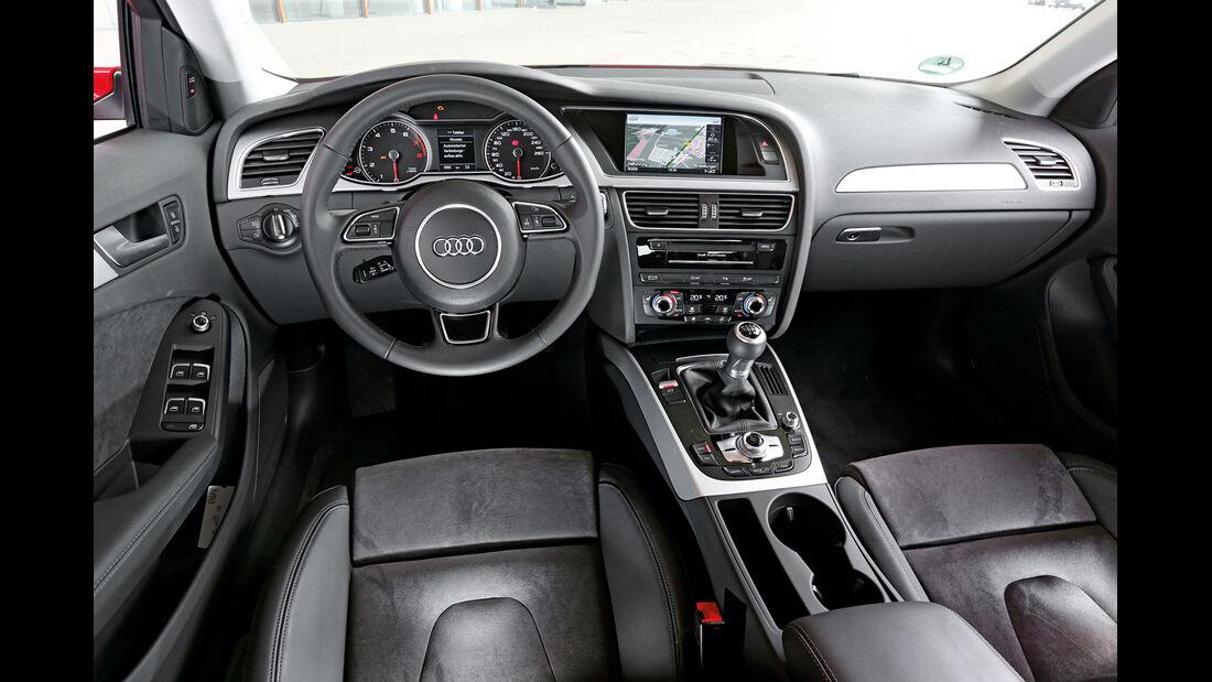 Audi A4 Avant 1.8 TFSI, Cockpit