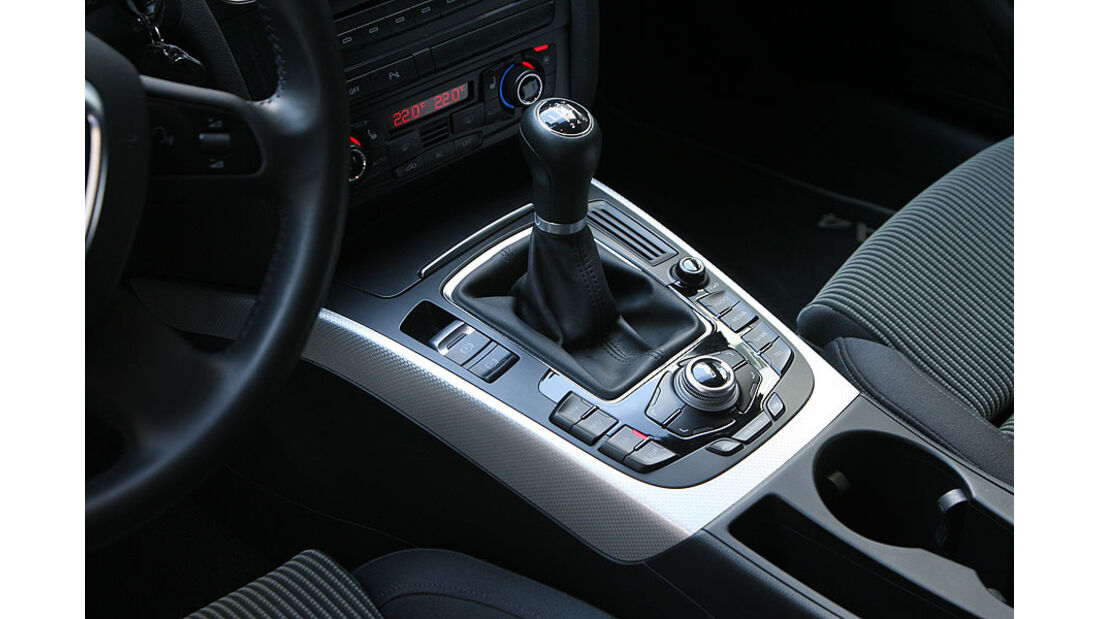 Audi A4 Avant 1.8 TFSI, Schalthebel