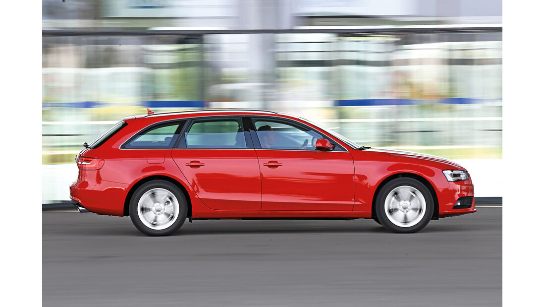 Audi A4 Avant 1.8 TFSI, Seitenansicht