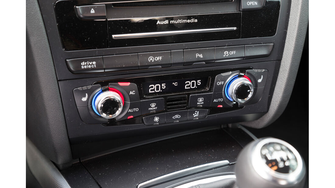 Audi A4 Avant 2.0 TDI Ambition, Mittelkonsole