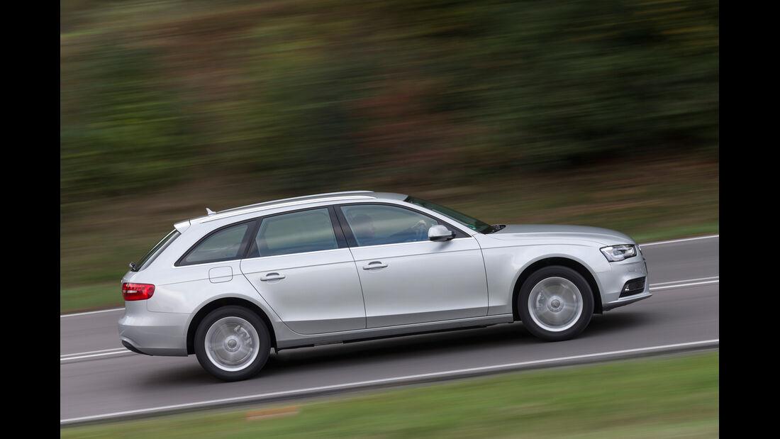 Audi A4 Avant 2.0 TDI Ambition, Seitenansicht