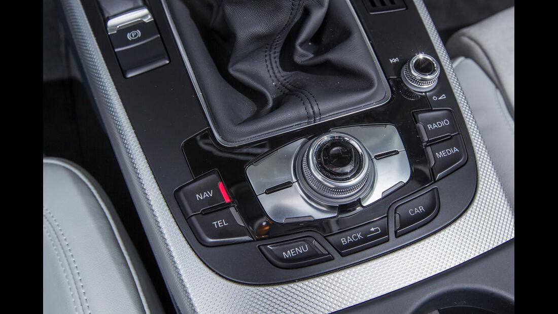 Audi A4 Avant 2.0 TDI, Bedienelemente