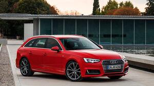 Audi A4 Avant 2.0 TDI, Frontansicht