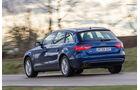 Audi A4 Avant 2.0 TDI, Heckansicht