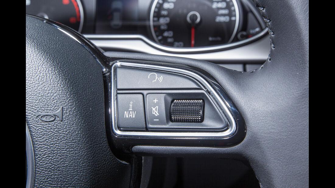 Audi A4 Avant 2.0 TDI, Lenkradschalter
