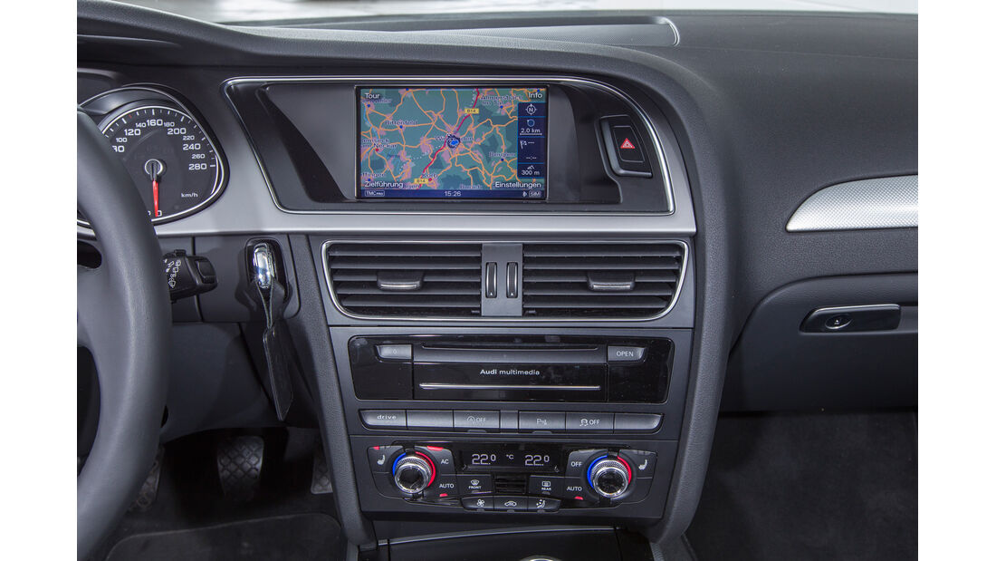Audi A4 Avant 2.0 TDI, Navi, Bildschirm