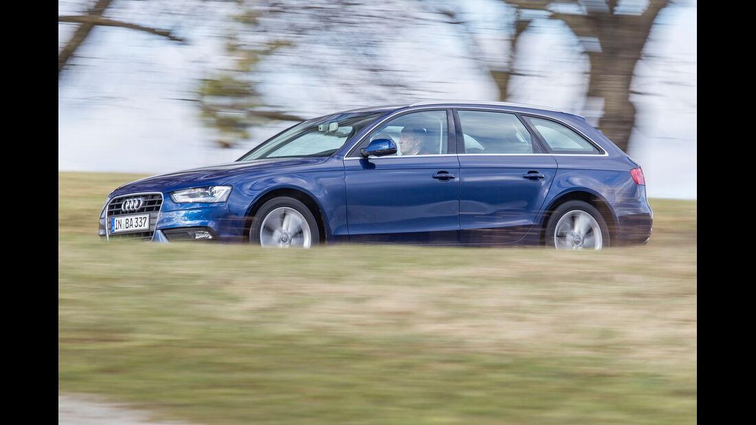 Audi A4 Avant 2.0 TDI, Seitenansicht