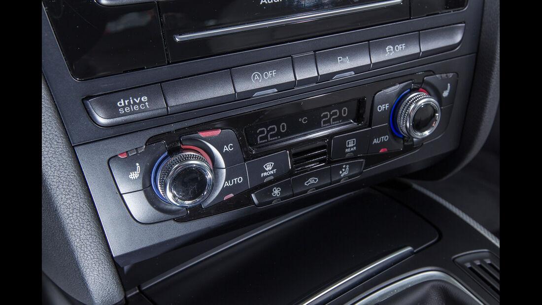 Audi A4 Avant 2.0 TDI, Teperaturregler