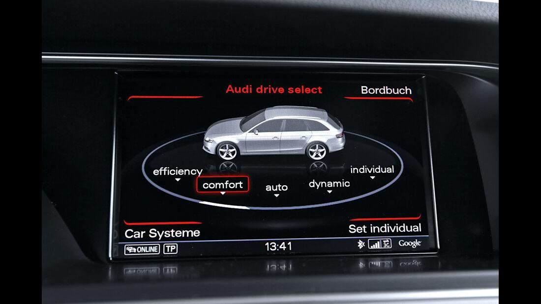 Audi A4 Avant 2.0 TDI Ultra Attraction, Display, Infotainment