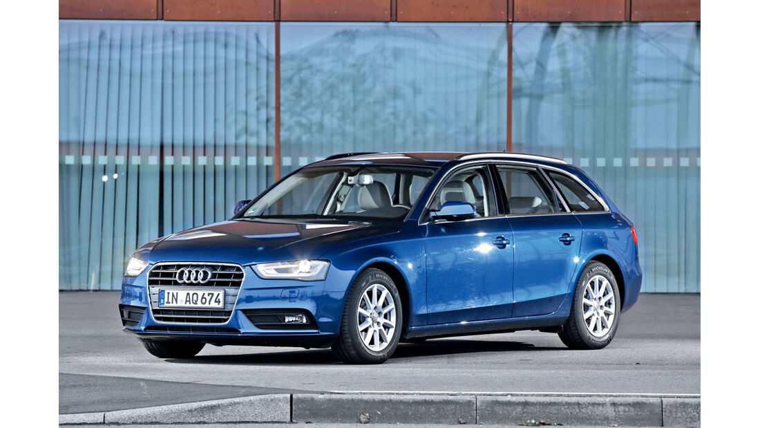 Audi A4 Avant 2.0 TDI Ultra Attraction, Frontansicht