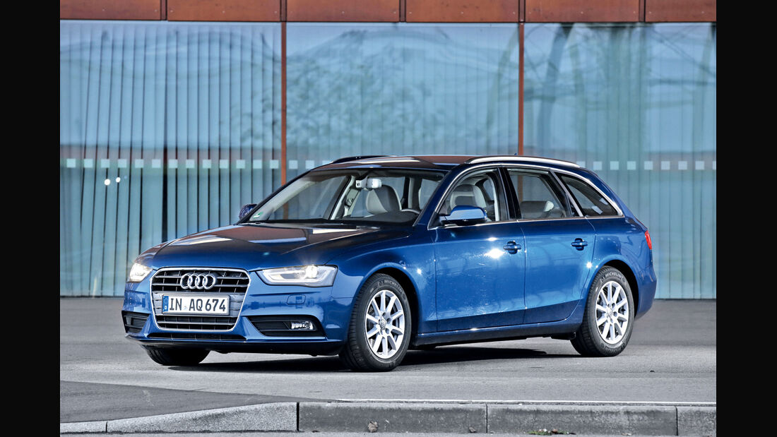 Audi A4 Avant 2.0 TDI Ultra Attraction, Frontansicht
