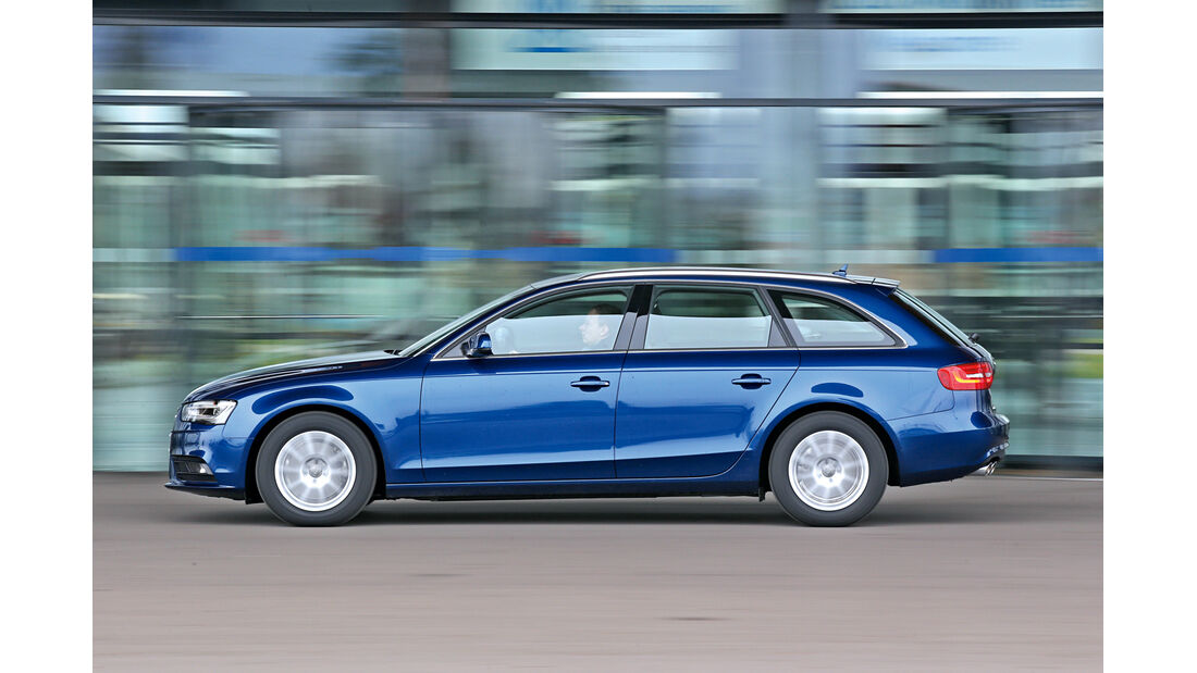Audi A4 Avant 2.0 TDI Ultra Attraction, Seitenansicht