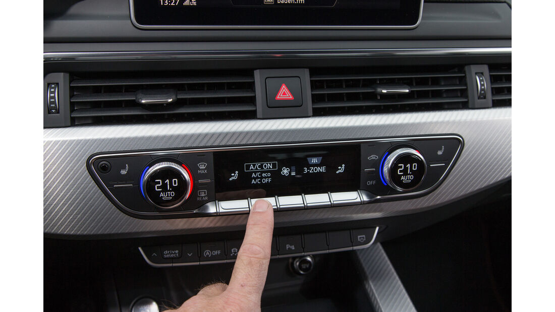 Audi A4 Avant 2.0 TFSI, Bedienelemente