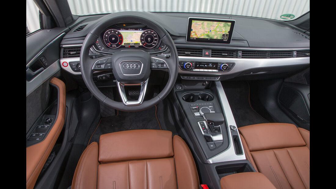 Audi A4 Avant 2.0 TFSI, Cockpit